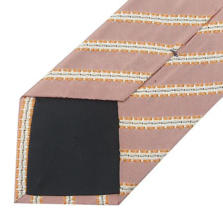 Hugo Boss(휴고보스) 100% 실크 트리플 바 스트라이프 패턴 넥타이