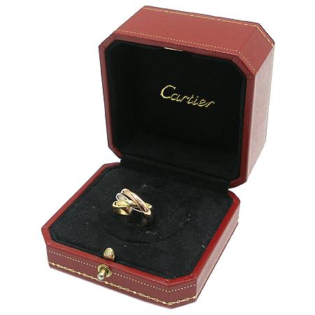 Cartier(까르띠에) B4052749 18K(750) 골드 삼색 클래식 트리니티 반지 - 9호 [명동매장]
