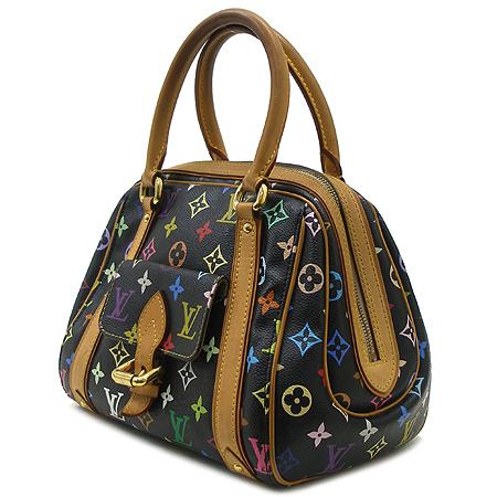 Louis Vuitton(루이비통) M40097 모노그램 멀티 컬러 블랙 프리실라 토트백 이미지3 - 고이비토 중고명품