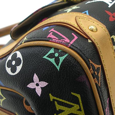 Louis Vuitton(루이비통) M40097 모노그램 멀티 컬러 블랙 프리실라 토트백 이미지6 - 고이비토 중고명품