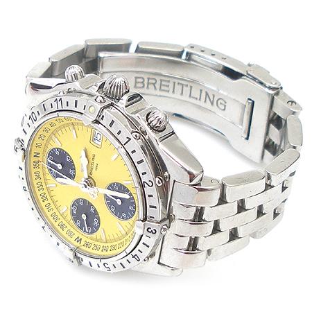 BREITLING(�����Ʋ��) A20048  CHRONOMAT LONGITUDE (ũ�γ�� ����Ʃ��) ��ƿ ������� �ð� [���빮��]