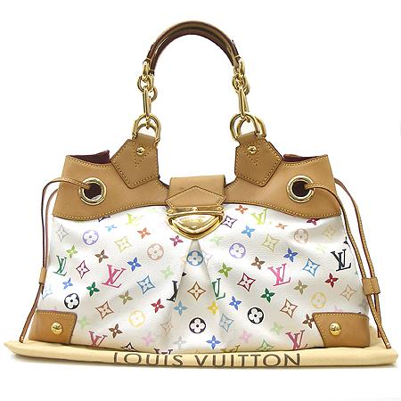 Louis Vuitton(루이비통) M40123 모노그램 멀티화이트 우슐라 숄더백