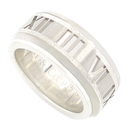 Tiffany(티파니) 925(실버)+티타늄 아틀라스 반지
