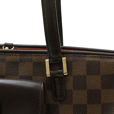 Louis Vuitton(루이비통) N51121 다미에 에벤 캔버스 마노스크 PM 토트 겸 숄더백 이미지3 - 고이비토 중고명품