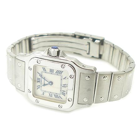 Cartier(까르띠에) 산토스 S 사이즈 여성용 스틸 시계 이미지2 - 고이비토 중고명품