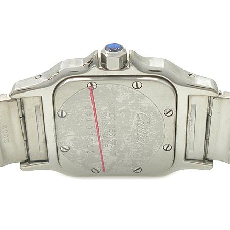 Cartier(까르띠에) 산토스 S 사이즈 여성용 스틸 시계 이미지4 - 고이비토 중고명품