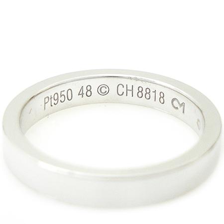 Cartier(까르띠에) PT950 (플래티늄) 이니셜 웨딩 반지 - 8호