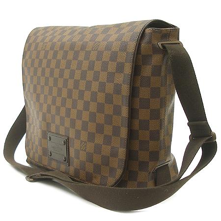 Louis Vuitton(루이비통) N51212 다미에 에벤 캔버스 브루클린 GM 크로스백 이미지2 - 고이비토 중고명품