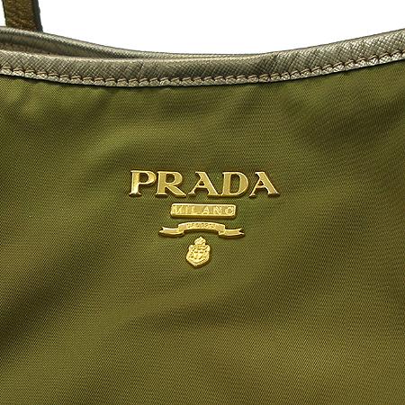 Prada(프라다) BR4104 TESSUTO SAFFIAN 골드 패브릭 쇼퍼 숄더백