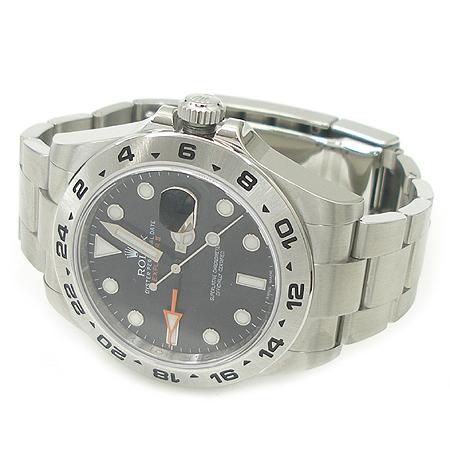 Rolex(로렉스) 216570 스틸 EXPLORER ll (익스플로러) GMT 남성용 시계