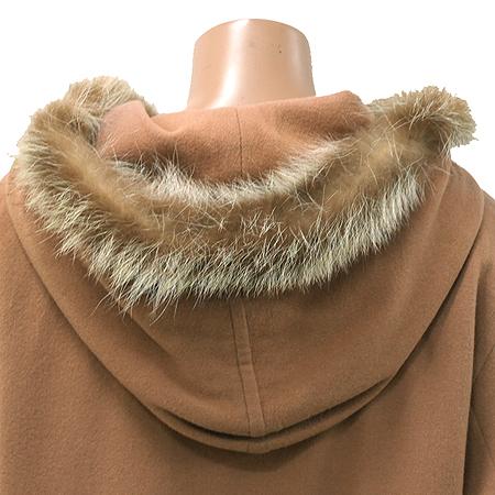 System(시스템) 후드 코트 (배색털:너구리털)