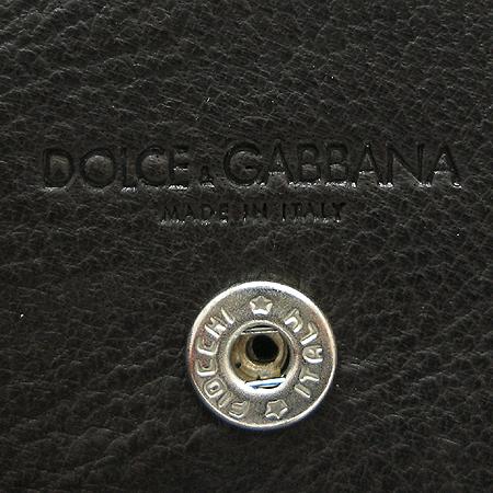 D&G(돌체&가바나) 다크 브라운 레더 동전 지갑 이미지3 - 고이비토 중고명품