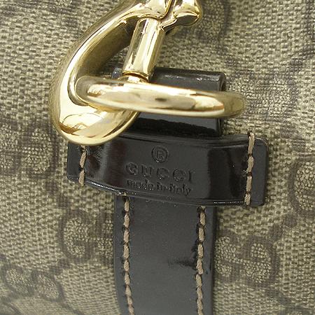 Gucci(구찌) 203494 GG 로고 PVC 에나멜 트리밍 토트백