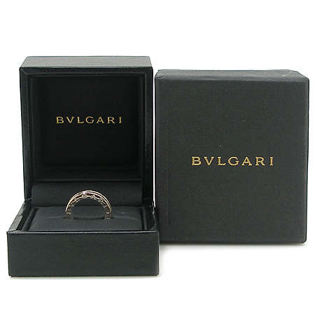 Bvlgari(불가리) 18K 화이트 골드 B-ZERO 1 (비제로 원) 1링 반지 - 4호