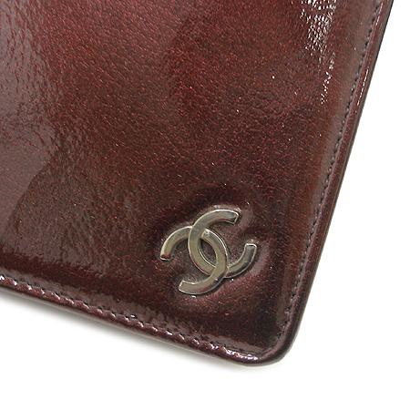 Chanel(샤넬) 은장 COCO 로고 페이던트 장지갑