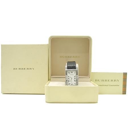 Burberry(버버리)14000G 은장 스퀘어 가죽 밴드 시계 이미지2 - 고이비토 중고명품