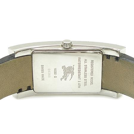 Burberry(버버리)14000G 은장 스퀘어 가죽 밴드 시계 이미지5 - 고이비토 중고명품