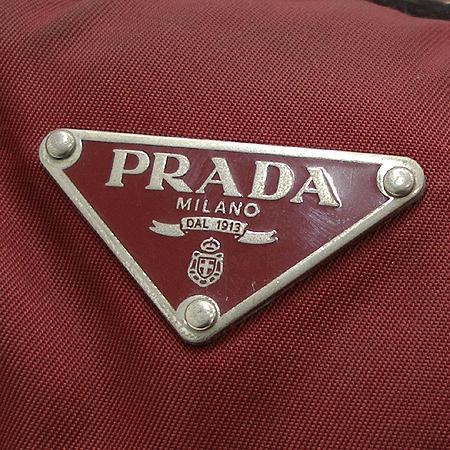 Prada(프라다) 삼각 로고 장식 패브릭 토트백 이미지4 - 고이비토 중고명품