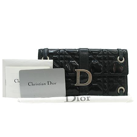 Dior(크리스챤디올) VYN43064 로고 카나쥬 퀼팅 장지갑