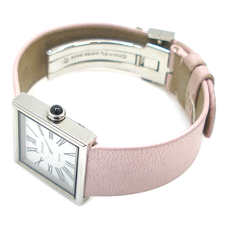 Chanel(샤넬) 마드모아젤 사각 스틸 프레임 DD클립 여성용 시계