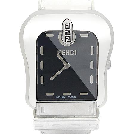 Fendi(펜디) 3800G B-FENDI 은장 벨트 장식 스틸 남여 공용 시계 [명동매장]