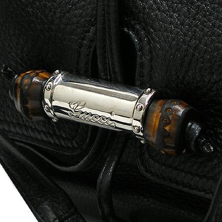 Gucci(구찌) 232940 블랙 래더 은장체인 뱀부장식 숄더백 이미지5 - 고이비토 중고명품