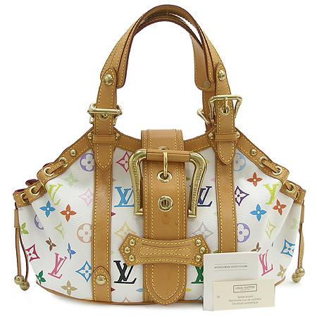 Louis Vuitton(루이비통) M92437  모노그램 멀티컬러 화이트 떼다 GM 토트백 [명동매장] 이미지2 - 고이비토 중고명품