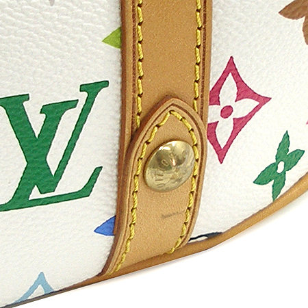 Louis Vuitton(루이비통) M92437  모노그램 멀티컬러 화이트 떼다 GM 토트백 [명동매장] 이미지6 - 고이비토 중고명품
