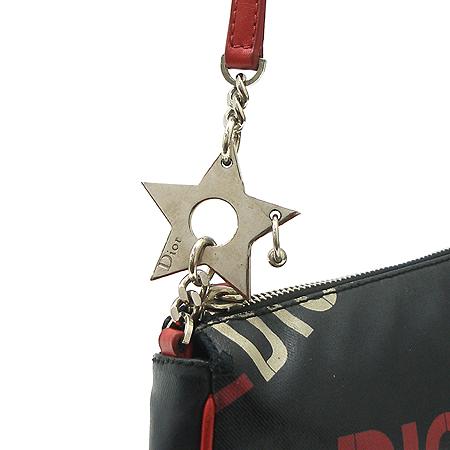 Dior(크리스챤디올) 피어싱 장식 새들 라인 파우치 숄더백