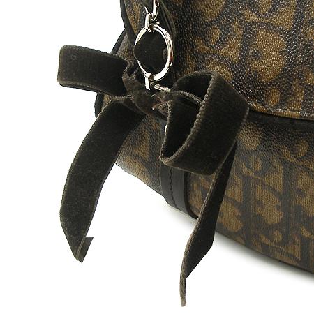 Dior(크리스챤디올) 로고 리본 장식 미니 토트백