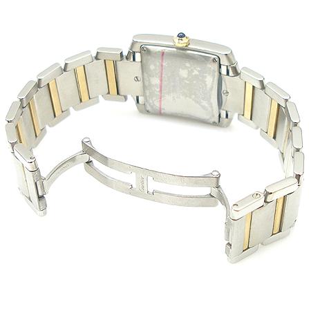 Cartier(까르띠에) W51005Q4 탱크 콤비 L사이즈 오토메틱 남성용 시계