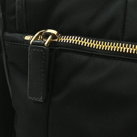 Prada(프라다) VA0814 블랙 레더 로고 장식 패브릭 크로스백