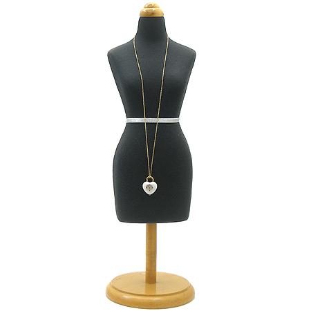 Marc_Jacobs (마크 제이콥스) 하트 팬던트 자개판 여성용 목걸이 시계