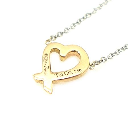 Tiffany(티파니) 18K 골드 파로마 피카소 러빙하트 목걸이 [명동매장]