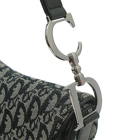 Dior(크리스챤디올) 로고 쟈가드 새들 숄더백