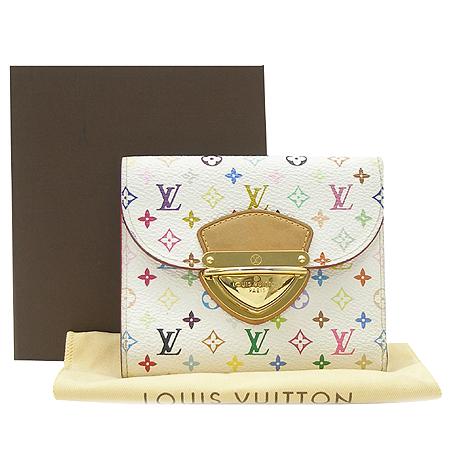 Louis Vuitton(루이비통) M58081 모노그램 멀티 화이트 코알라 월릿 중지갑