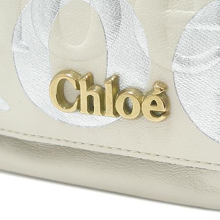 Chloe(끌로에) 8AS525 아이보리래더 금장로고장식 원포켓 크로스겸 숄더백 [부산본점]