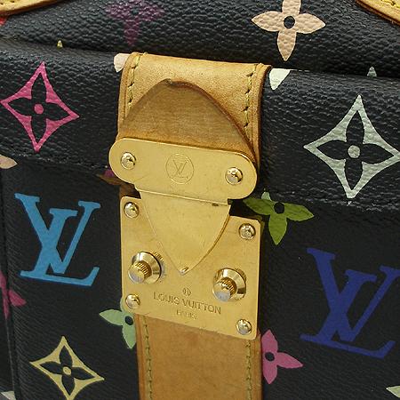 Louis Vuitton(루이비통) M92642 모노그램 멀티 블랙 스피디30 토트백 이미지4 - 고이비토 중고명품