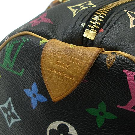 Louis Vuitton(루이비통) M92642 모노그램 멀티 블랙 스피디30 토트백 이미지5 - 고이비토 중고명품