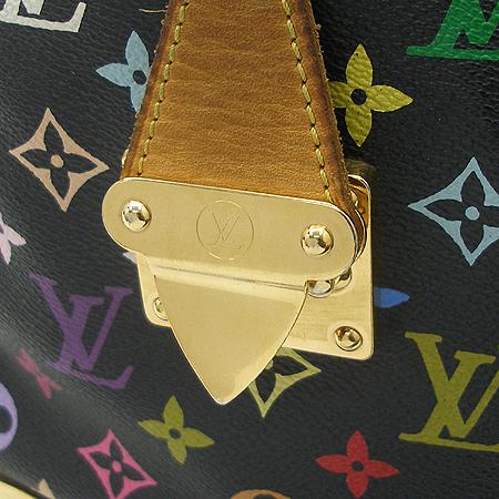 Louis Vuitton(루이비통) M92642 모노그램 멀티 블랙 스피디30 토트백 이미지6 - 고이비토 중고명품