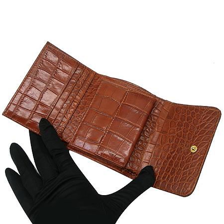 Etro(에트로) 12464 페이즐리 금장 로고 장식 3단 반지갑 [부산본점]