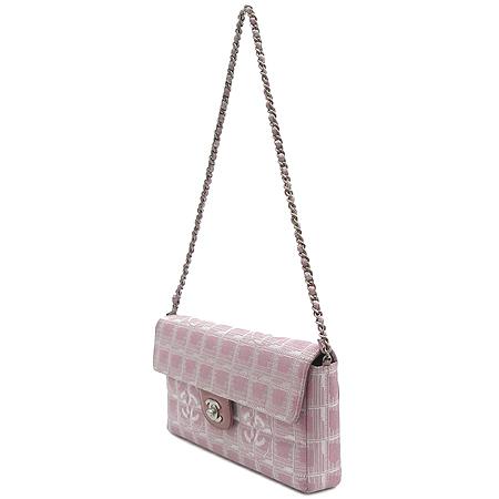 Chanel(샤넬) 뉴 트래블 쵸코바 메탈 체인 숄더백 이미지3 - 고이비토 중고명품