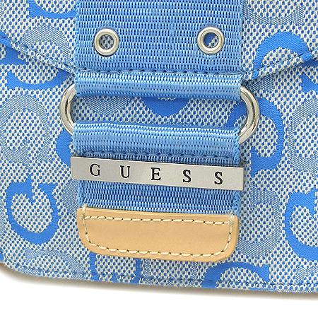 Guess(게스) 원포켓 왕골 패턴 토트백