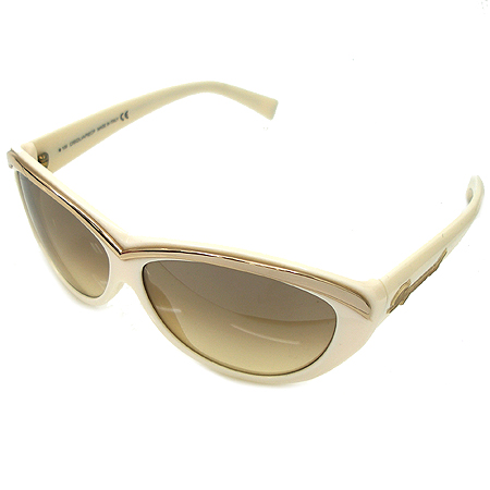 DSQUARED2 (디스퀘어드2) DQ0018 금장 메탈 장식 크림 컬러 뿔테 선글라스