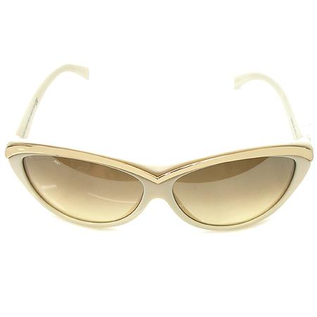 DSQUARED2 (디스퀘어드2) DQ0018 금장 메탈 장식 크림 컬러 뿔테 선글라스 이미지3 - 고이비토 중고명품