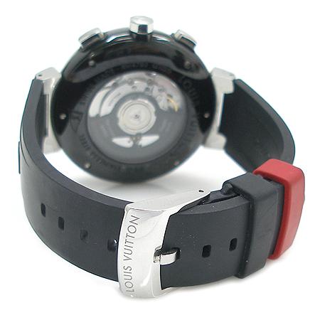 Louis Vuitton(루이비통) Q102G1 땅부르 LV컵 레가타 오토메틱 블랙 남성용 시계