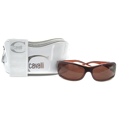 CAVALLI(카발리) JC149S 로고 프린팅 뿔테 선글라스