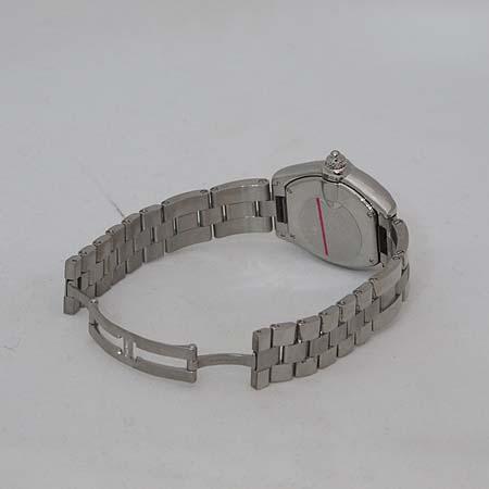 Cartier(까르띠에) W62016V3 로드스터 S사이즈 스틸 여성용 시계 + 교체형 DD클립 새틴 밴드 이미지4 - 고이비토 중고명품
