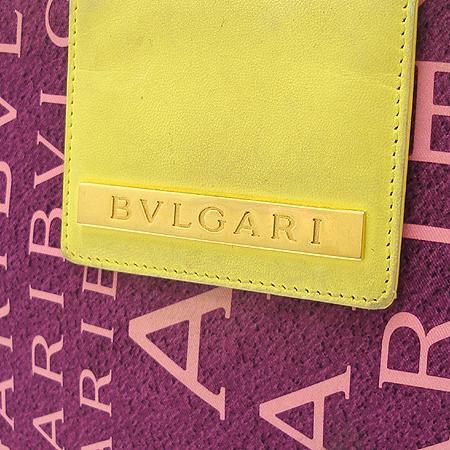 Bvlgari(불가리) 이니셜 로고 패브릭 토트백