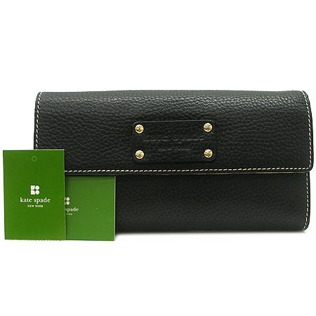 KATE SPADE(케이트스페이드) 로고 장식 블랙 장지갑 [강남본점] 이미지2 - 고이비토 중고명품